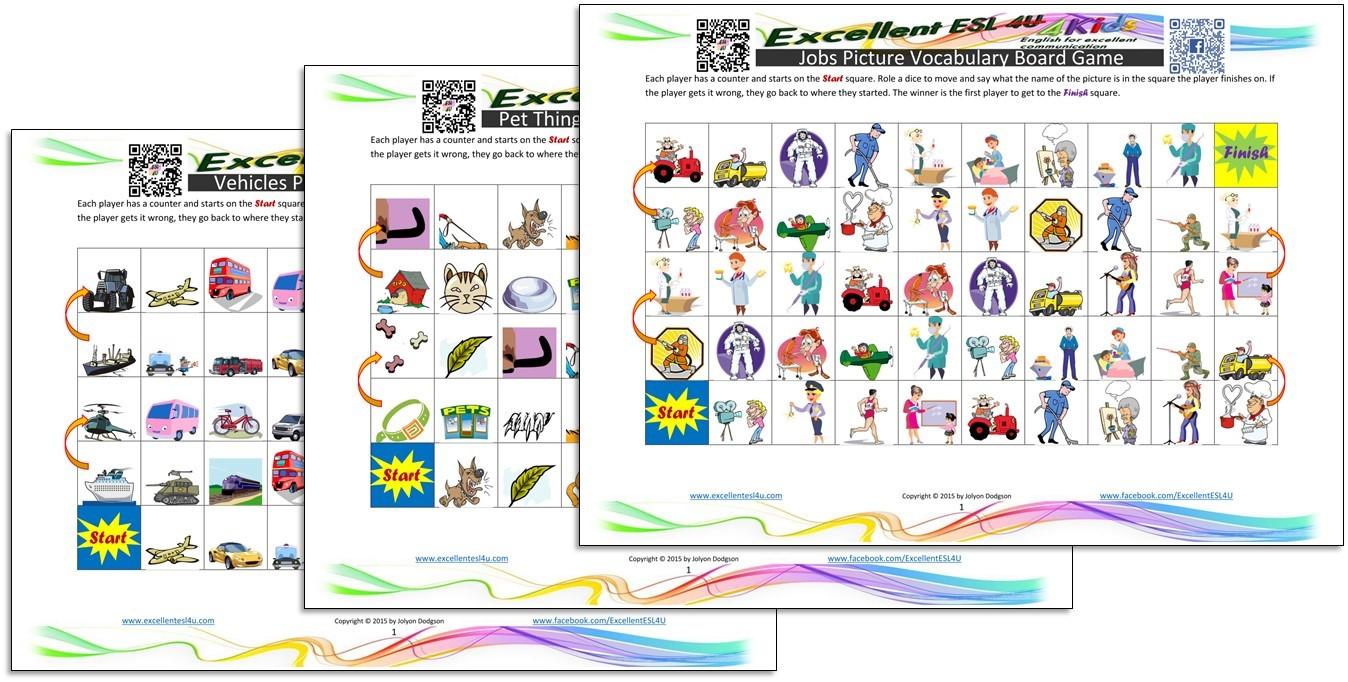 esl games for kids