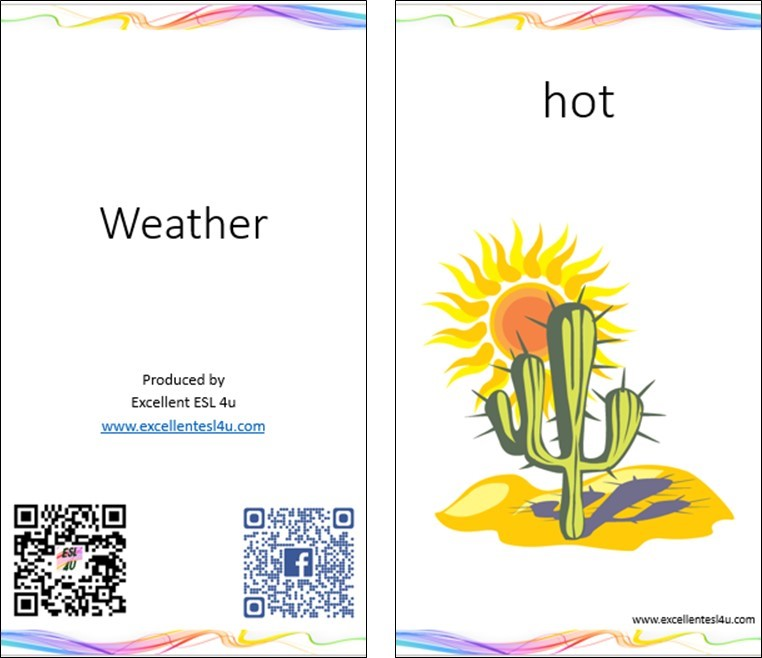 just click either the following link or the picture below to download the picture flashcards of the 20 esl children weather vocabulary words - Weather Pics For Kids