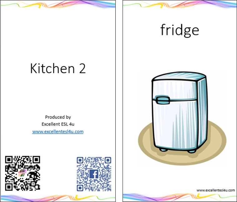 Esl Kids Kitchen Vocabulary 2