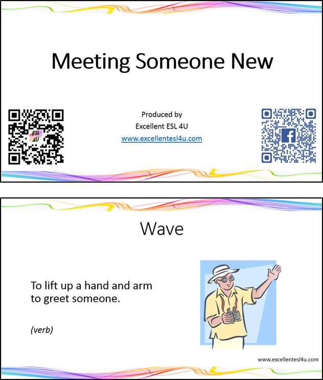 Esl meeting someone new vocabulary vocabulary flashcards for meeting someone new m4hsunfo