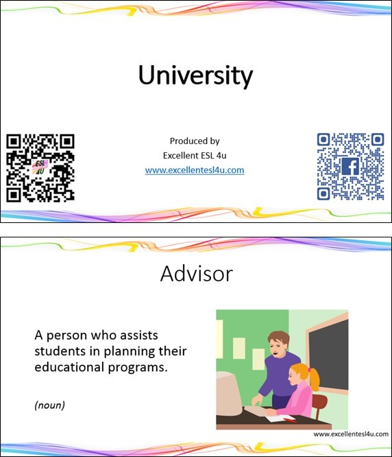 Esl university vocabulary you can download the following esl university vocabulary flashcards to use when you are offline just click the following picture or the link that follows ibookread Read Online