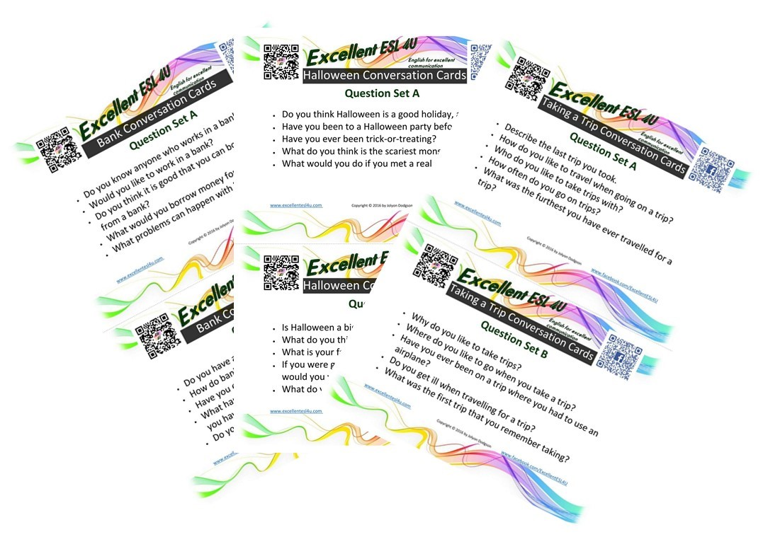 Esl conversation cards how to use these conversation cards kristyandbryce Image collections