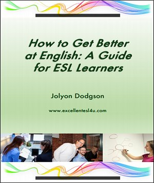 Free ESL book: 'How to Get Better at English: A Guide for ESL Learners' by Jolyon Dodgson